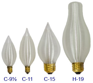 chandelier, candle and chimney decorative incandescents