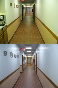 T8 Fluorescent Lighting Fixtures and Retrofit Kits