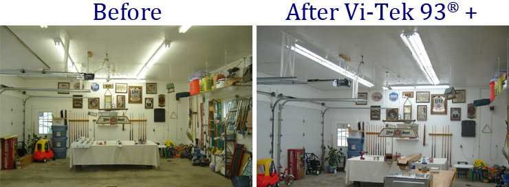 Fluorescent Garage Lighting
